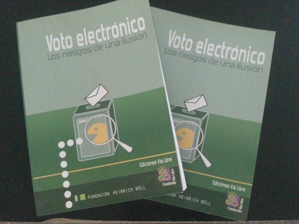#NoAlVotoElectronico