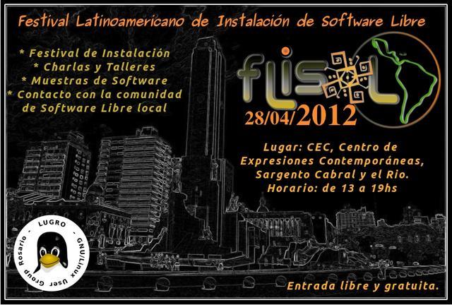 Folleto Flisol 2012
