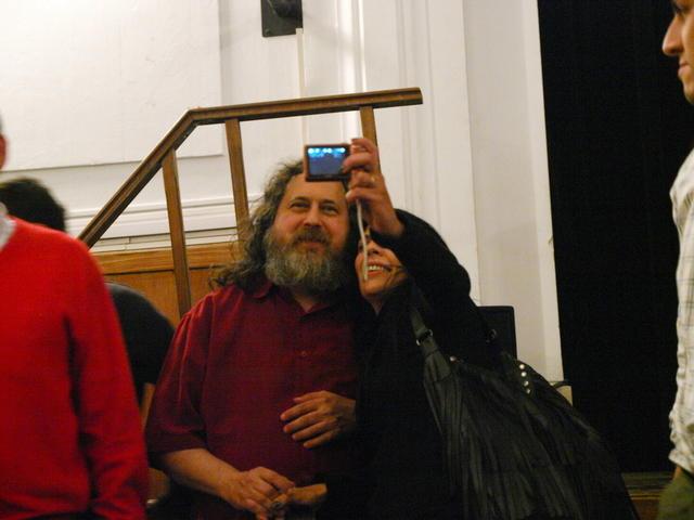 El público con RMS
