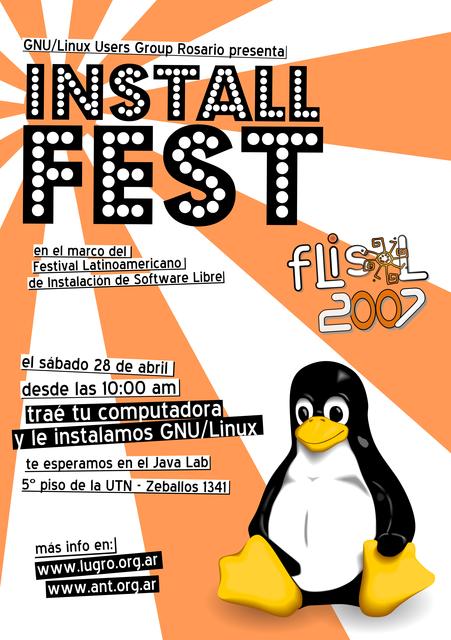 afiche flisol 2007 color