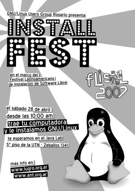 afiche flisol 2007 gray