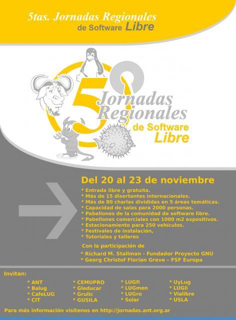 afiche jornadas regionales