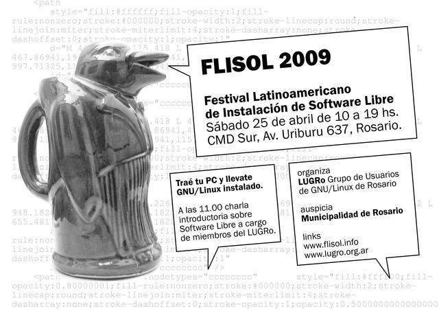 Flisol 2009 Rosario - gray