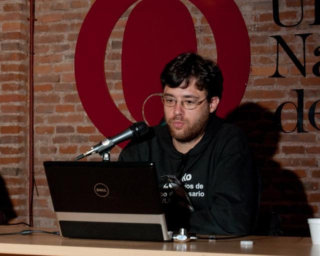 Sebastián D. Criado en el Panel de Redes Libres